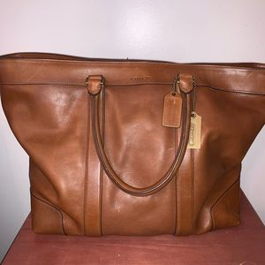 Authentic Coach Weekender Bag